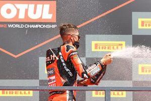 Podio: Scott Redding, Aruba.It Racing - Ducati