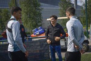 Marc Marquez, Repsol Honda Team, Rodri et Ferran Torres