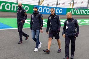 Max Verstappen, Red Bull Racing, track walk