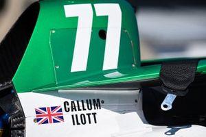 El nombre de Callum ilott en el Juncos Hollinger-Chevrolet IndyCar