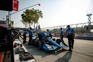 Scott McLaughlin, miembros del equipo Penske Chevrolet