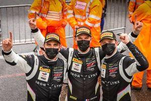 Ganador de la carrera #51 Iron Lynx Ferrari 488 GT3: Alessandro Pier Guidi, Nicklas Nielsen, Côme Ledogar