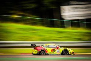 #166 Hägeli by T2 Racing Porsche 911 GT3-R: Pieder Decurtins, Manuel Lauck, Marc Basseng, Dennis Busch