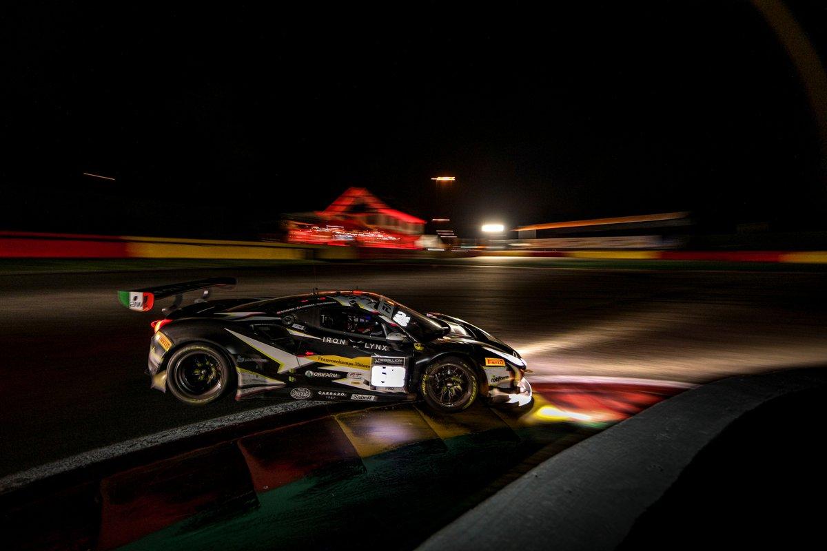 #51 Iron Lynx Ferrari 488 GT3: Alessandro Pier Guidi, Nicklas Nielsen, Côme Ledogar