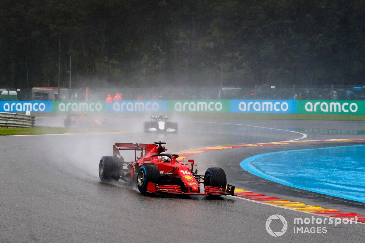 Charles Leclerc, Ferrari SF21, Antonio Giovinazzi, Alfa Romeo Racing C41