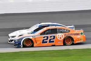 Michael McDowell, Front Row Motorsports, Ford Mustang Horizon Hobby, Joey Logano, Team Penske, Ford Mustang Autotrader