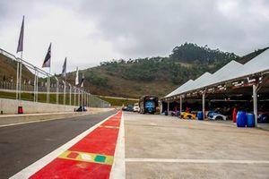 Caravana da GT Sprint Race no Autódromo Potenza, em Lima Duarte (MG)