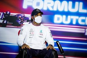 Lewis Hamilton, Mercedes in de persconferentie