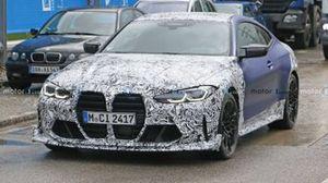 BMW M4 foto spia