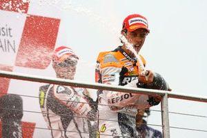 Le vainqueur Andrea Dovizioso, Repsol Honda Team