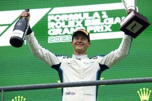 George Russell, Williams, 2e plaats