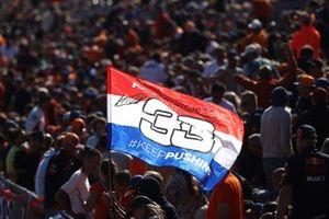 Flag for Max Verstappen, Red Bull Racing