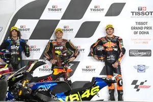 Marco Bezzecchi, Sky Racing Team VR46, Sam Lowes, Marc VDS Racing Team, Remy Gardner, Red Bull KTM Ajo