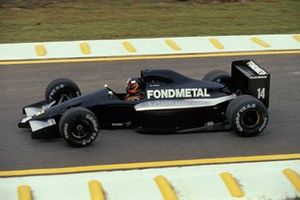 Olivier Grouillard, Fondmetal FA1ME Ford