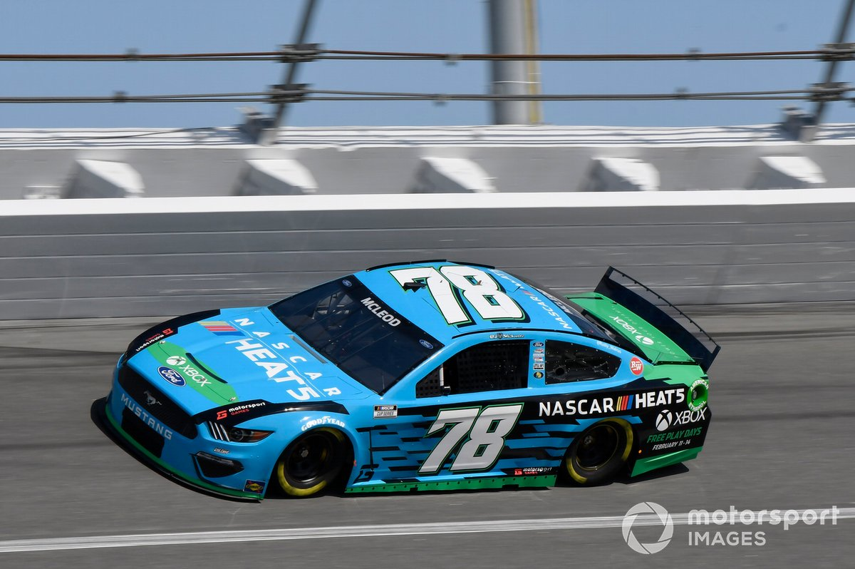38. B.J. McLeod, Live Fast Motorsports, Ford Mustang