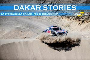 Cover Dakar Stories, La storia della Dakar - pt.2, il Sud America