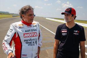 Nelson Piquet and Nelson Piquet Jr.