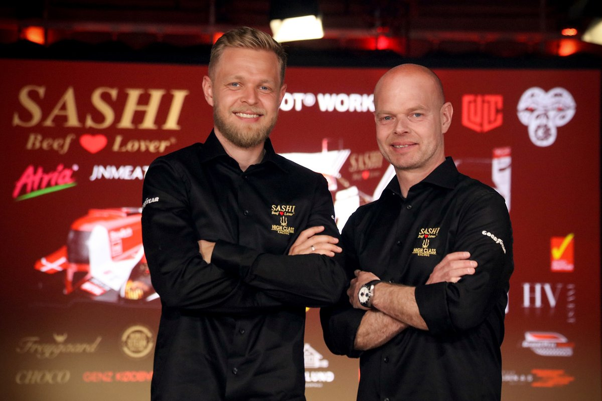 Anders Fjordbach, Jan Magnussen, Kevin Magnussen, High Class Racing