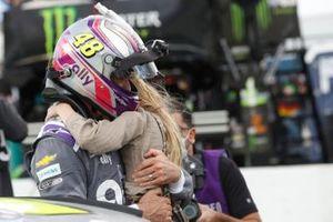 Jimmie Johnson, Hendrick Motorsports, mit Tochter Genevieve