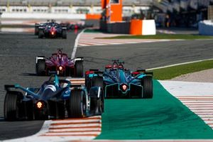 Lucas Di Grassi, Audi Sport ABT Schaeffler, Audi e-tron FE07, Sam Bird, Panasonic Jaguar Racing, Jaguar I-Type 5, Oliver Turvey, NIO 333, NIO 333 001