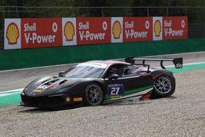 Marco Pulcini crashes