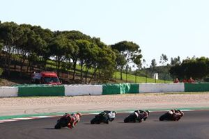 Renn-Action beim GP Portugal 2020 in Portimao