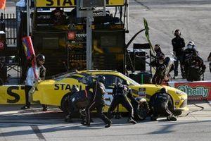 Martin Truex Jr., Joe Gibbs Racing, Toyota Supra STANLEY