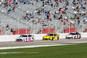 Austin Cindric, Team Penske, Ford Mustang Car Shop, Martin Truex Jr., Joe Gibbs Racing, Toyota Supra STANLEY