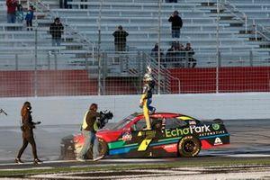 Justin Allgaier, JR Motorsports, Chevrolet Camaro Axalta/EchoPark Automotive
