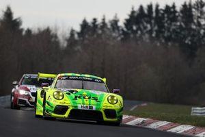 #911 Manthey-Racing Porsche 911 GT3 R: Michael Christensen, Kevin Estre, Lars Kern