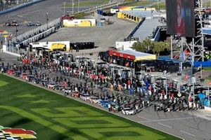 A general view of the starting grid