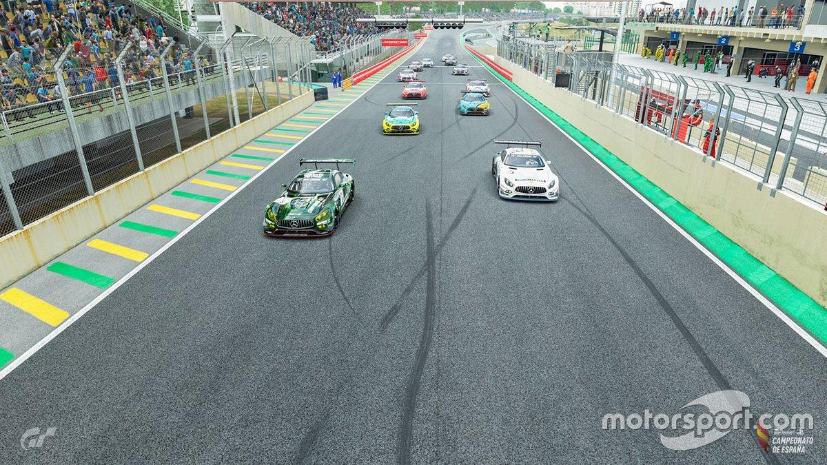 GP de Interlagos del Campeonato de España de Gran Turismo