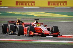 Mick Schumacher, Prema Racing leads Jehan Daruvala, Carlin