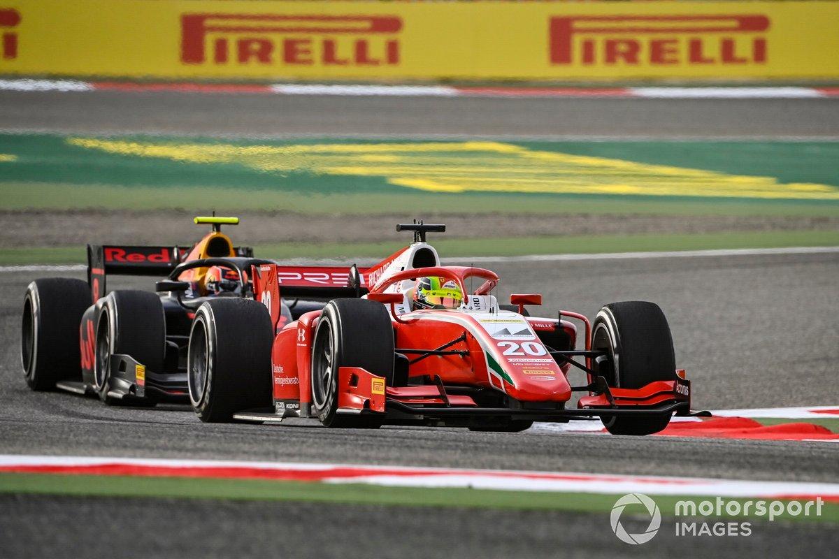 Mick Schumacher, Prema Racing, Jehan Daruvala, Carlin