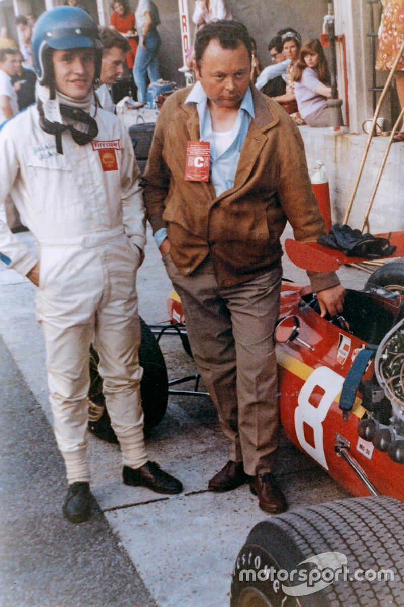 Jean Graton con Jacky Ickx