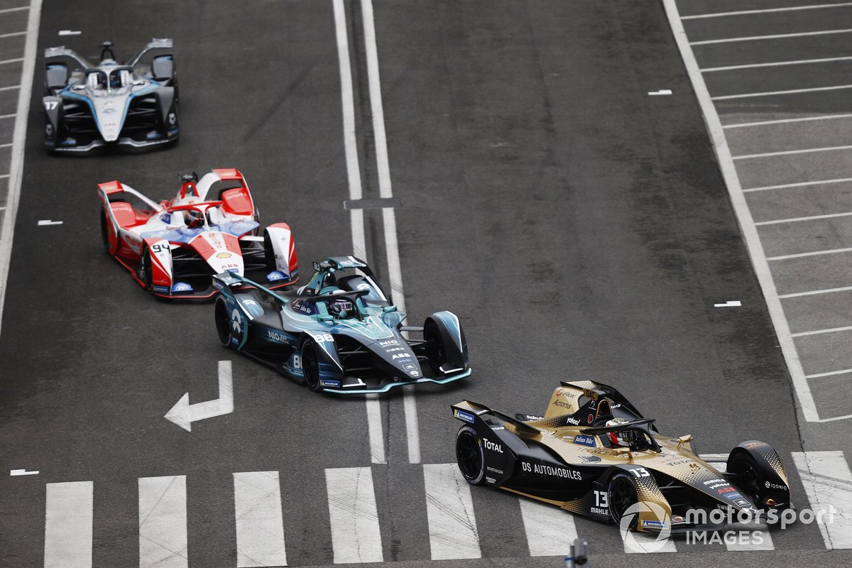 Antonio Felix Da Costa, DS Techeetah, DS E-Tense FE21, Tom Blomqvist, NIO 333, NIO 333 001, Alex Lynn, Mahindra Racing, M7Electro, Nyck de Vries, Mercedes-Benz EQ, EQ Silver Arrow 02