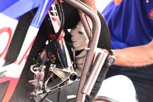 Red Bull KTM Tech 3 bike detail