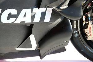 Аэродинамические детали на мотоцикле Джека Миллера, Ducati Team
