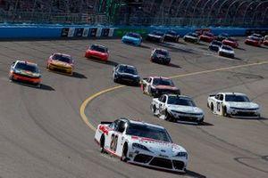 Harrison Burton, Joe Gibbs Racing, Toyota Supra DEX Imaging, A.J. Allmendinger, Kaulig Racing, Chevrolet Camaro Ellsworth Advisors