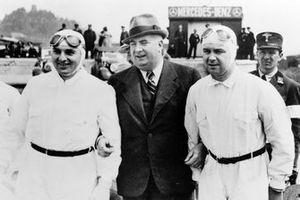 Hermann Lang, Rudolf Caracciola, Alfred Neubauer, Mercedes-Benz