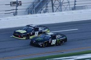 Riley Herbst, Stewart-Haas Racing, Ford Mustang Monster Energy, Brandon Brown, Brandonbilt Motorsports, Chevrolet Camaro Jabs Construction