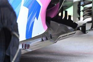 Racing Point RP20 vloer detail