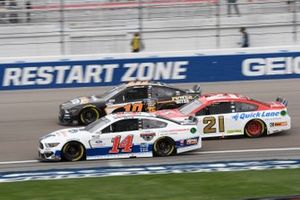 Chase Briscoe, Stewart-Haas Racing, Ford Mustang Ford Performance Racing School, Matt DiBenedetto, Wood Brothers Racing, Ford Mustang Motorcraft/Quick Lane, Aric Almirola, Stewart-Haas Racing, Ford Mustang Smithfield Power Bites