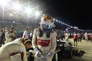 Marcus Ericsson, Sauber sur la grille