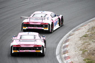 #26 BWT Mücke Motorsport Audi R8 LMS: Jeffrey Schmidt, Jamie Green, #25 BWT Mücke Motorsport Audi R8 LMS: Ricardo Feller, Christopher Haase