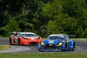 #14 3GT Racing Lexus RCF GT3, GTD - Dominik Baumann, Kyle Marcelli, #48 Paul Miller Racing Lamborghini Huracan GT3, GTD - Madison Snow, Bryan Sellers