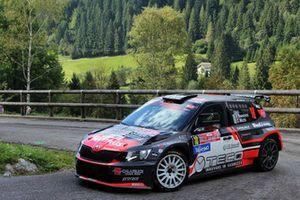 Leopoldo Maestrini, Daniele Michi, Skoda Fabia R5, Scuderia P.S.G Rally