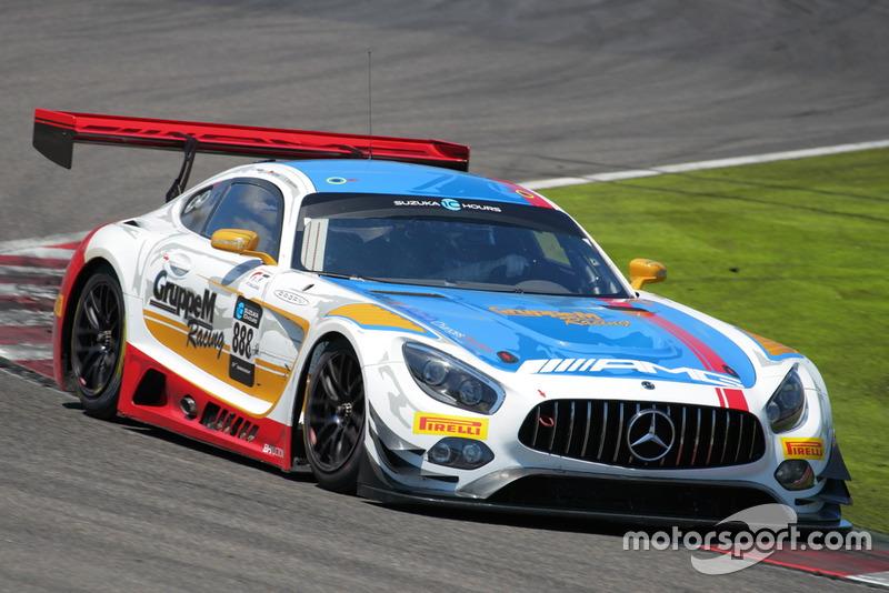 Maro Engel, Rafael Marcello, Tristan Wotier, Mercedes-AMG GT3