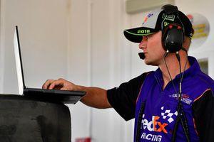 Michael Wheeler, crew chief di Denny Hamlin, Joe Gibbs Racing, Toyota Camry FedEx Ground