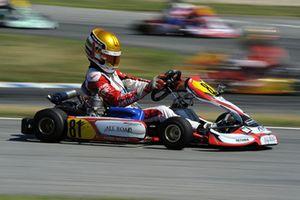Charles Leclerc, CIK-FIA karting